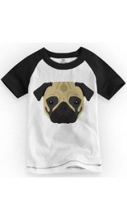 Camiseta Infantil Bulldog - Nerd e Geek - Presentes Criativos