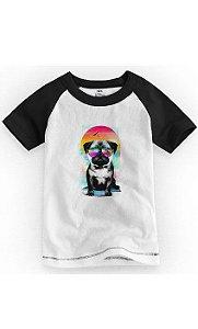 Camiseta Infantil Dog Stayle - Nerd e Geek - Presentes Criativos