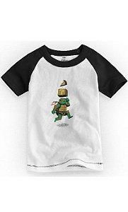 Camiseta Infantil Tartaruga Ninja - Nerd e Geek - Presentes Criativos