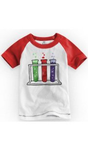 Camiseta Infantil Colors - Nerd e Geek - Presentes Criativos