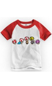 Camiseta Infantil Toad - Nerd e Geek - Presentes Criativos
