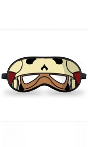 Máscara de Dormir Star Wars Indiana Jones - Mon Rama Stormtrooper