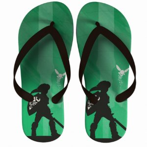Chinelo Green The Legend Of Zelda : Link Little - Nerd e Geek - Presentes Criativos