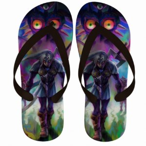 Chinelo Green The Legend Of Zelda : Majora' s Mask - Nerd e Geek - Presentes Criativos