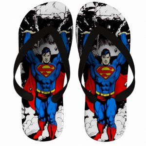 Chinelo Super man - Nerd e Geek - Presentes Criativos