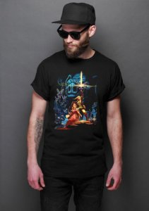 Camiseta The Legend of Zelda Castle - Nerd e Geek - Presentes Criativos