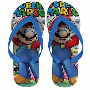 Chinelo Super Mario - Nerd e Geek - Presentes Criativos