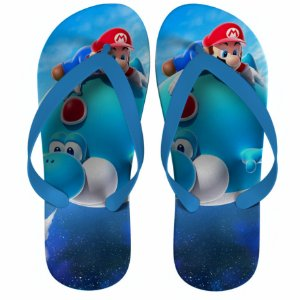 Chinelo Mario and Yoshi Adventure - Nerd e Geek - Presentes Criativos