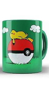 Caneca Pikachu Poke Ball - Nerd e Geek - Presentes Criativos