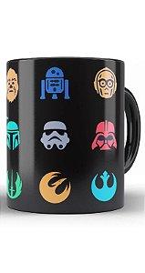 Caneca Star Wars Darth Vader, Stormtrooper