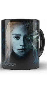 Caneca Game of Thrones Daenerys Targaryen Dragon