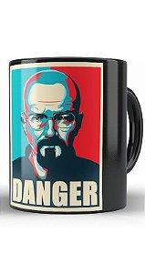 Caneca Breaking Bad Danger - Nerd e Geek - Presentes Criativos