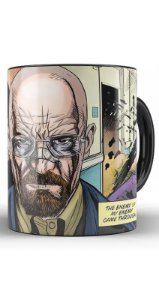 Caneca Breaking Bad The Heisenberg HQ - Nerd e Geek - Presentes Criativos