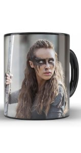 Caneca The 100  commander Lexa - Nerd e Geek - Presentes Criativos