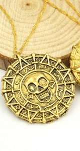 Colar Piratas do Caribe Presentes Criativos - Nerd e Geek - Presentes Criativos