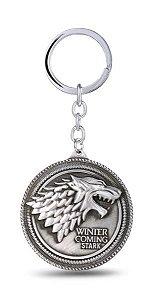 Chaveiro Game of Thrones Escudo Moeda de Metal Presentes Criativos - Nerd e Geek - Presentes Criativos