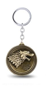 Chaveiro Game of Thrones Escudo Presentes Criativos​