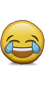 Almofada Emoticon - Emoji Chorando de rir