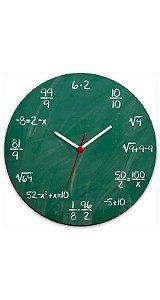 Relógio de Parede Geek Blackboard - Nerd e Geek - Presentes Criativos