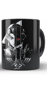 Caneca  The Legend Of Zelda Link Cursed - Nerd e Geek - Presentes Criativos