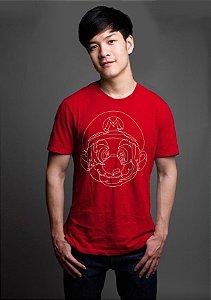 Camiseta Masculina  Super Mario - Nerd e Geek - Presentes Criativos