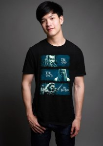 Camiseta Masculina  Lord of Rings - Nerd e Geek - Presentes Criativos