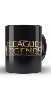 Caneca League of Legends - Nerd e Geek - Presentes Criativos