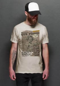Camiseta Masculina  Que Fisico - Nerd e Geek - Presentes Criativos