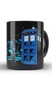 Caneca ET Doctor Police Box - Nerd e Geek - Presentes Criativos