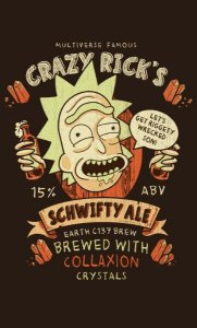 Camiseta Crazy Rick' s