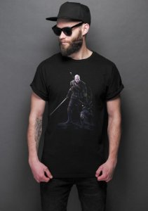 Camiseta Masculina  The Witcher 3 - Nerd e Geek - Presentes Criativos