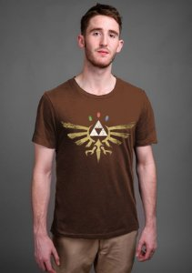 Camiseta Triforce Zelda - Nerd e Geek - Presentes Criativos