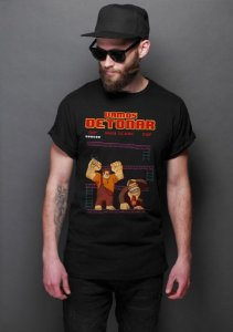 Camiseta Masculina  Donkey Kong - Nerd e Geek - Presentes Criativos