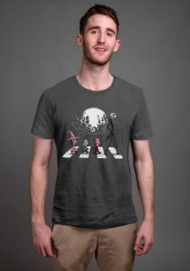 Camiseta Masculina  Jack Skellington Beatles - Nerd e Geek - Presentes Criativos