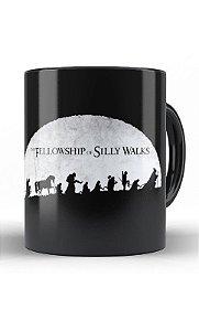 Caneca The Fellowship of Silly Walks - Nerd e Geek - Presentes Criativos