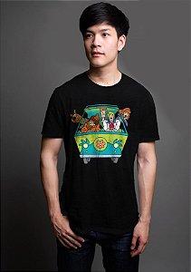Camiseta Masculina  Scooby Doo - Nerd e Geek - Presentes Criativos