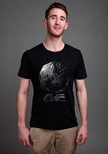 Camiseta Masculina  Alien vs Predador - Nerd e Geek - Presentes Criativos
