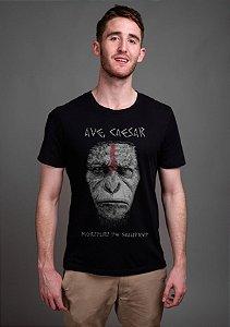 Camiseta Masculina  Planeta dos Macacos - Nerd e Geek - Presentes Criativos