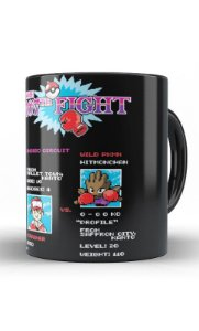 Caneca Anime Pokemon - The Fight - Nerd e Geek - Presentes Criativos
