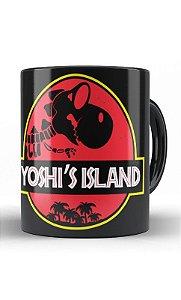 Caneca Yoshi's Island - Nerd e Geek - Presentes Criativos
