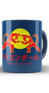 Caneca Anime Dragon Ball Fusiom Power - Nerd e Geek - Presentes Criativos