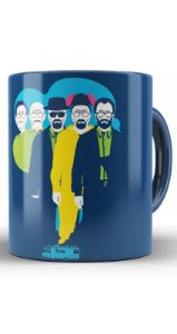 Caneca  Breaking Bad Mr. Chipa to Face