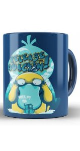 Caneca Anime Pokémon Realese the Quackin - Nerd e Geek - Presentes Criativos