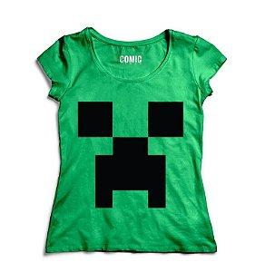 Camiseta Feminina Minecraft