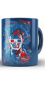 Caneca Doctor Who Oculos 3D