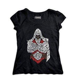 Camiseta Feminina Assassin's Creed