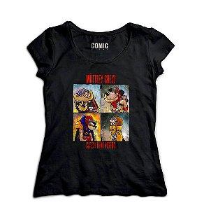 Camiseta Feminina  Esquadrilha Abutre - Nerd e Geek - Presentes Criativos