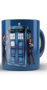 Caneca Doctor Who Police Call Box