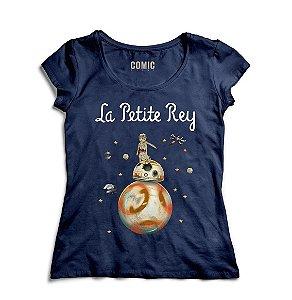 Camiseta Feminina  Star Wars -La petite Rey