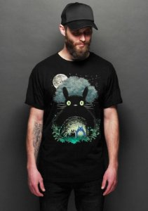 Camiseta Masculina  My Neighbor Totoro - Nerd e Geek - Presentes Criativos